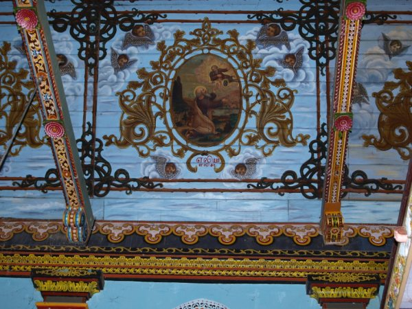 Saint Marys Church Champakulam- Kaloorkkadu murals