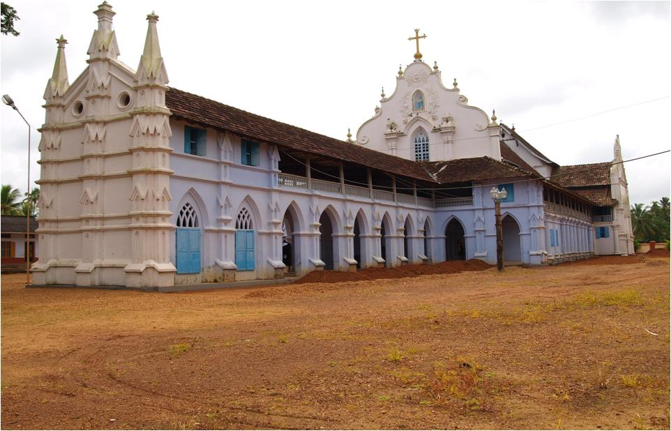saint marys chamapakulam church Champakulam Kalloorkkadu St Marys Church  The Hidden Pearl in Nasrani History